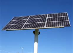 Silver Solar Panel