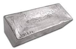 1000oz silver bar