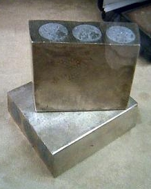 fake Silver 100oz bars
