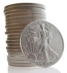 AMerican Silver Eagle Stack