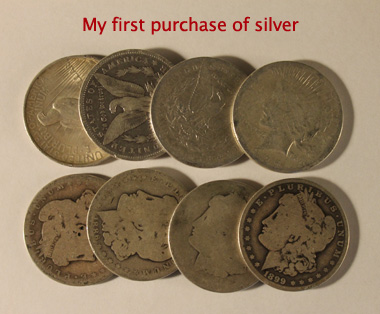 First Silver Buy