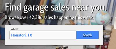 Local Garage Sales