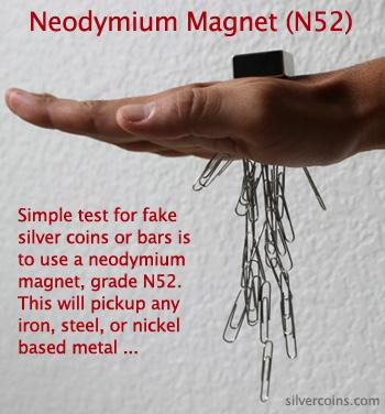 Neodymium Silver Test