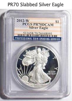 PR 70 Silver Eagle