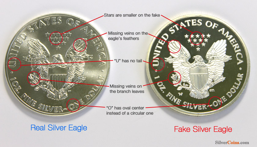 Fake Silver Coins 13 Ways To Spot Counterfeits Silver Coins