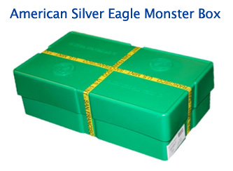 Silver Eagle Monster Box