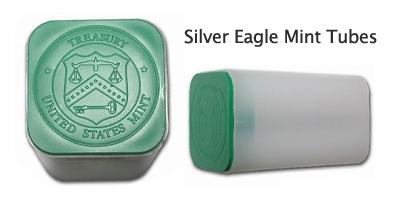 Silver Eagle Mint Tubes