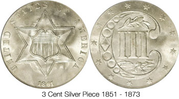 3 Cent Silver