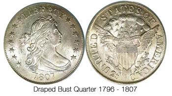 Draped Bust Quarter