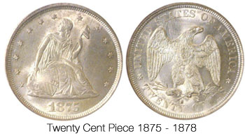 Twenty Cent Piece