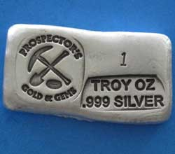 Hand Poured Silver