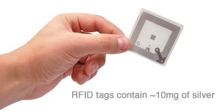 RFID tags & silver