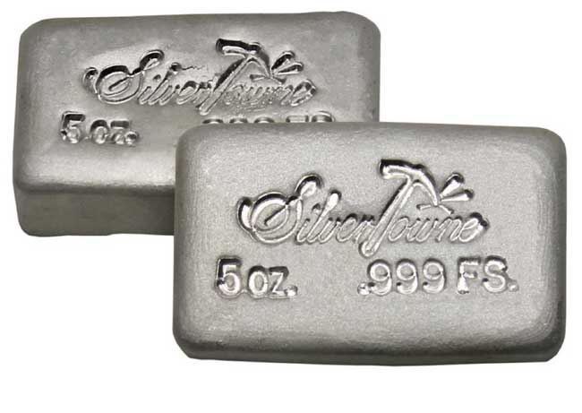 Silvertowne Hand Poured Bar