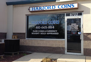 Buy sell gold silver in maryland local coin shops for Coin and jewelry exchange pleasant hill
