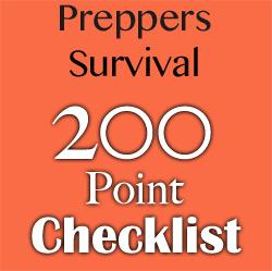 Prepper Checklist